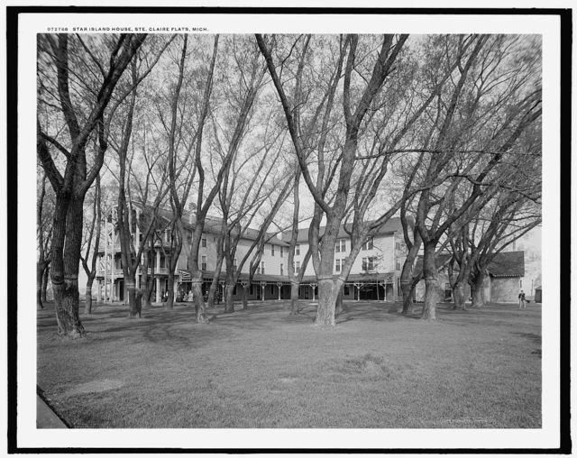 Star Island House, Ste. Claire [sic] Flats, Mich.
