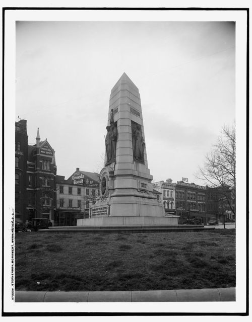 Stephenson [Grand Army of the Republic] monument, Washington, D.C.