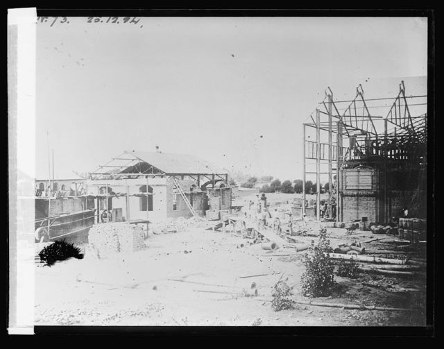 Sugar Refinery in course of construction at Cartavia, Peru (No. 73)