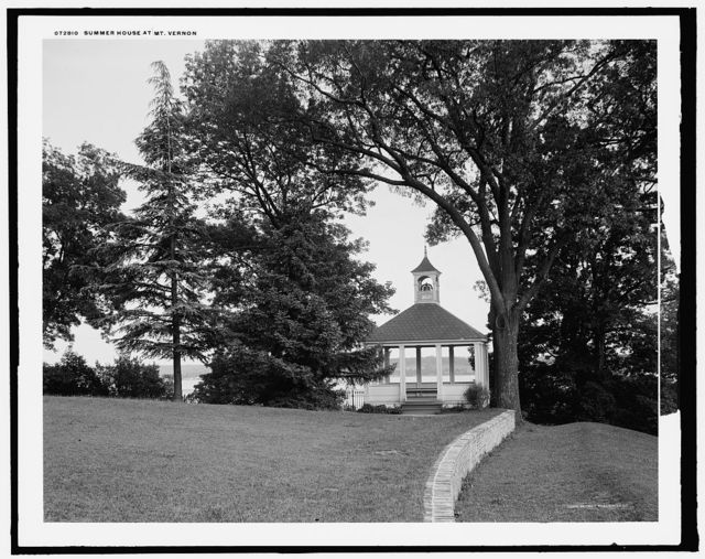 Summer house at Mt. Vernon