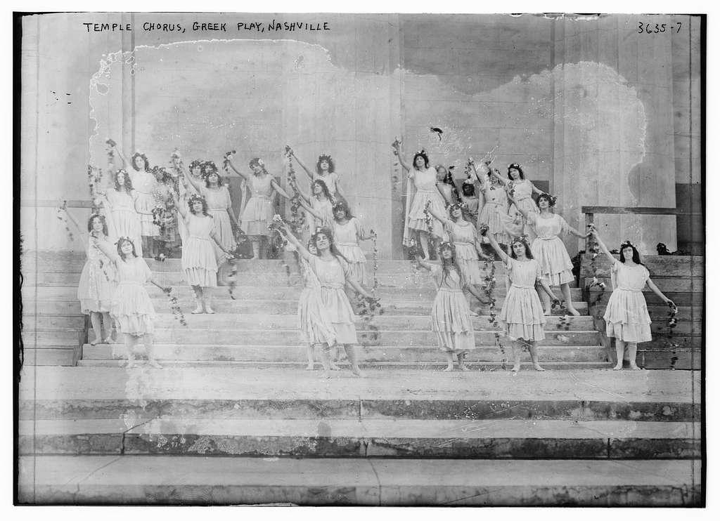 Temple Chorus, Greek Play, Nashville