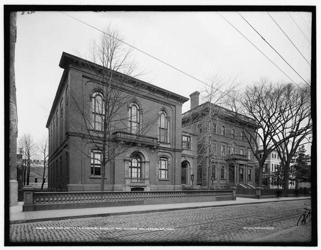 The Essex Institute, historical museum and picture gallery, Salem, Mass.