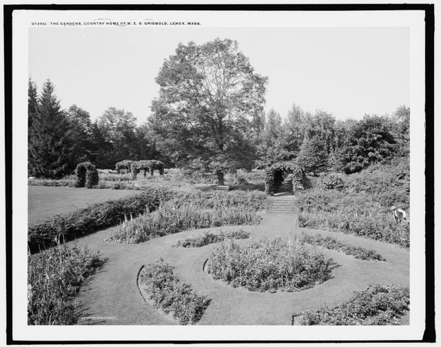 The Gardens, country home of W.E.S. Griswold, Lenox, Mass.