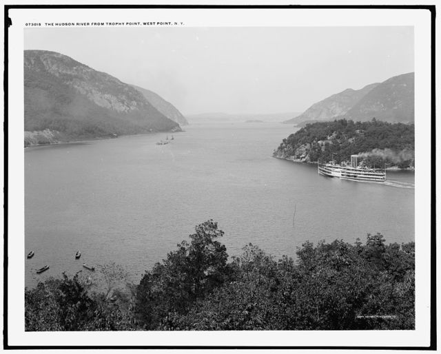 The Hudson River from Trophy Point, West Point, N.Y.