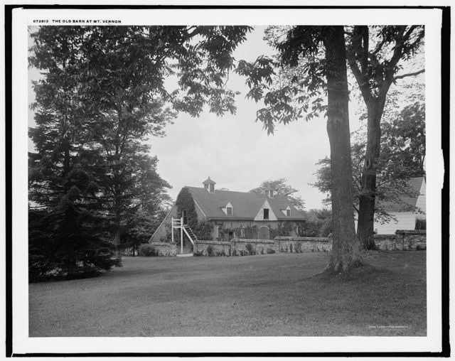 The Old barn at Mt. Vernon
