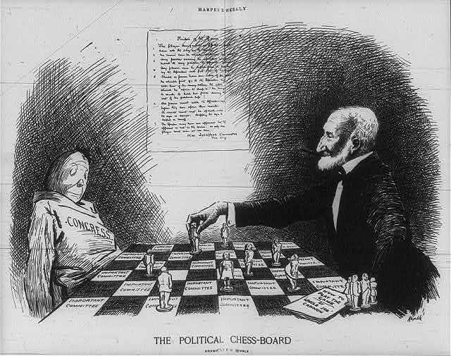 The Political Chess-Board