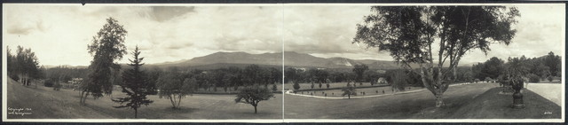 The Saco Valley from the Jones Estate, North Conway, N.H.