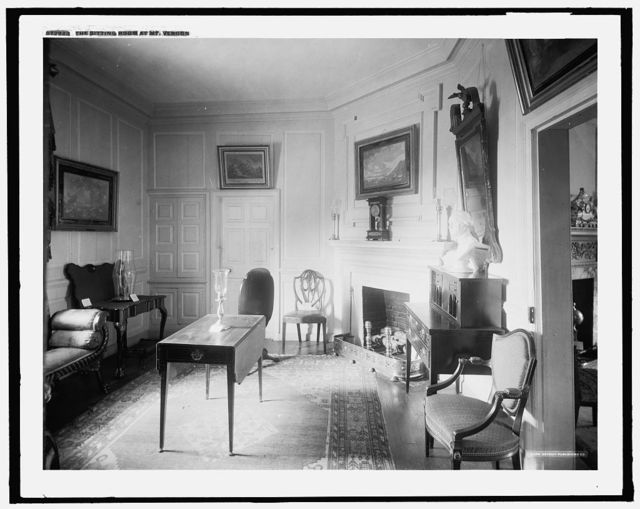 The Sitting room at Mt. Vernon