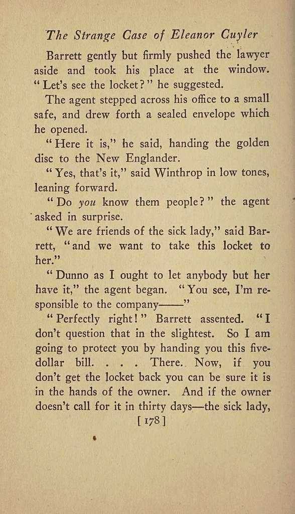 The strange case of Eleanor Cuyler
