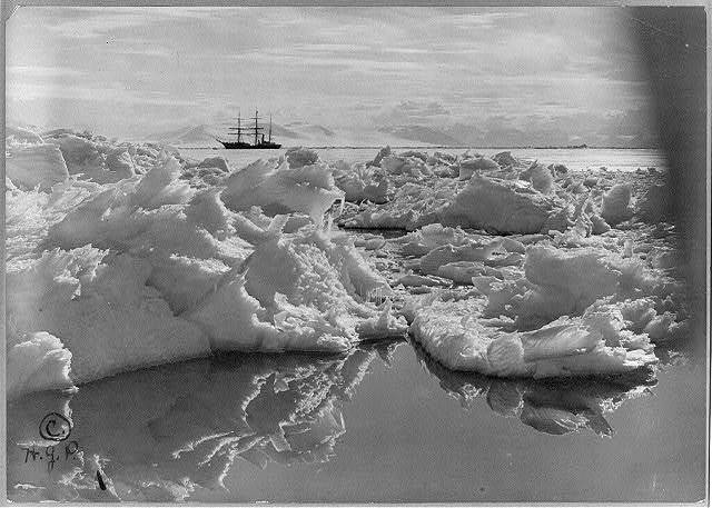 The Terra Nova in McMurdo Sound