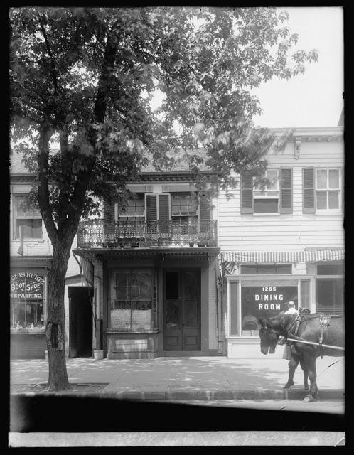 The toy shop, 1207 N.Y. Ave., [Washington, D.C.]
