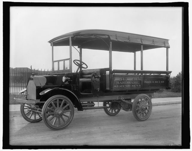 [Truck: James B. Lambie Co., Inc., Hardware, 1415 New York Ave, N.W., Washington, D.C.]