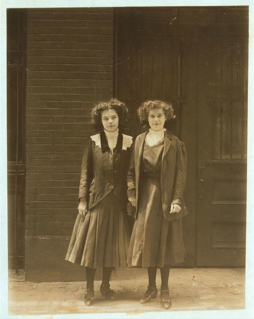 Two young girls working Inland Type Foundry. 9 to 10 hours a day.  Location: St. Louis, Missouri.