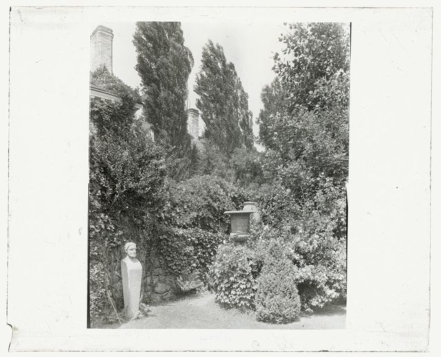 [Unidentified house and garden. Herm]