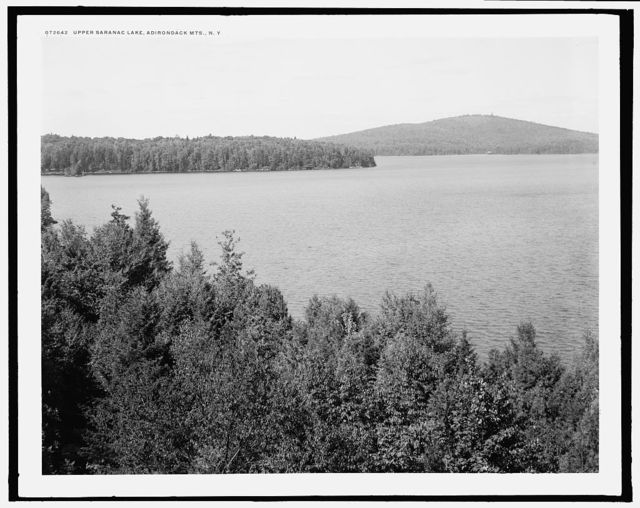 Upper Saranac Lake, Adirondack Mts., N.Y.