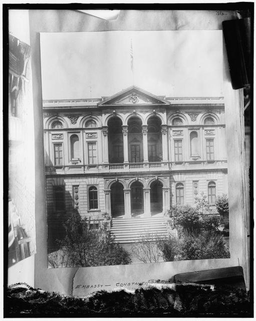 U.S. Embassy at Constantinople