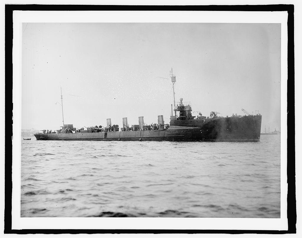 U.S. Ship Preston