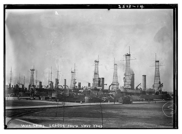 War Ships, League Isl. Navy Yard