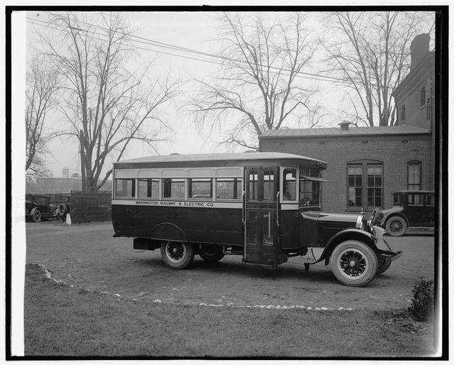 Wash. Railway & Elec. Co. bus
