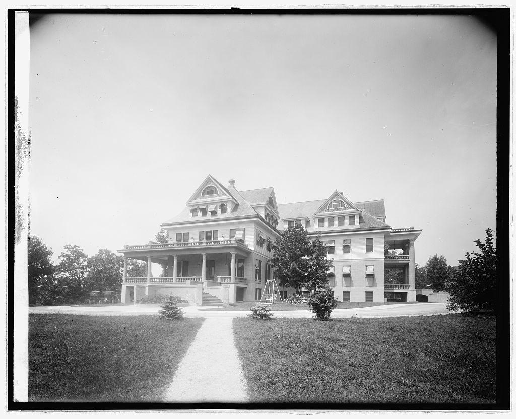 Washington Sanitarium, [Takoma Park, Maryland], front
