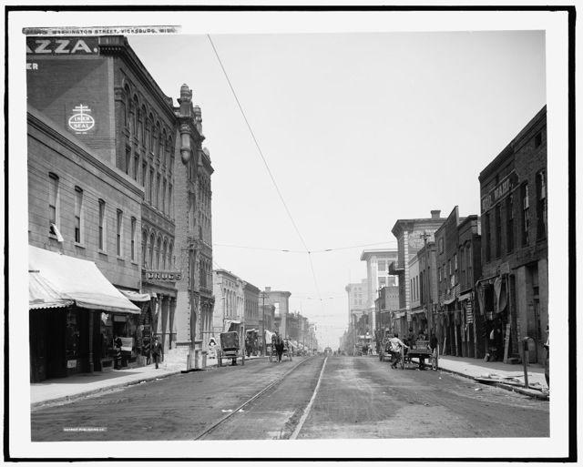 Washington Street, Vicksburg, Miss.