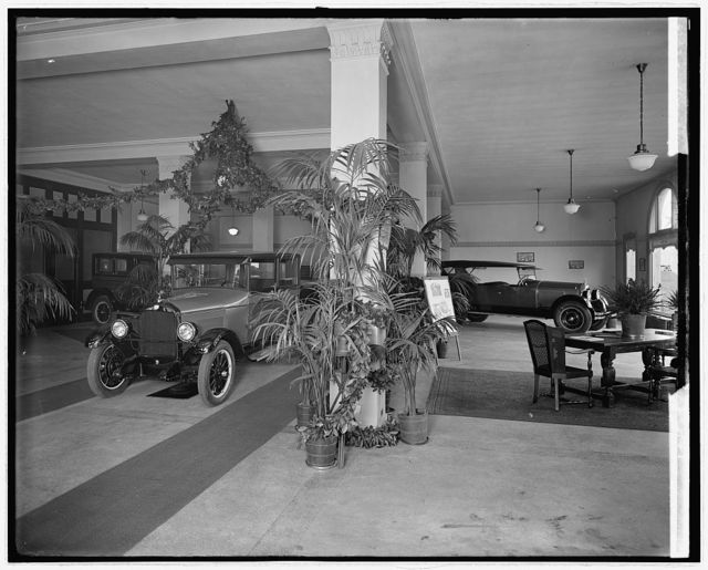 [Washington Virginia Motor Co. interior]