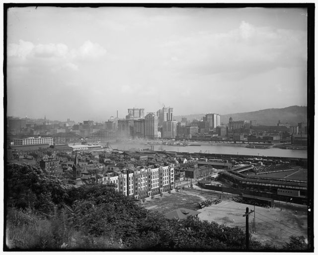 [Waterfront, probably Pittsburgh, Pa.]