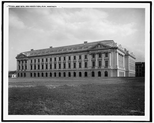 West wing, new agricultural [Dept. of Agriculture]Building, Washington, D.C.