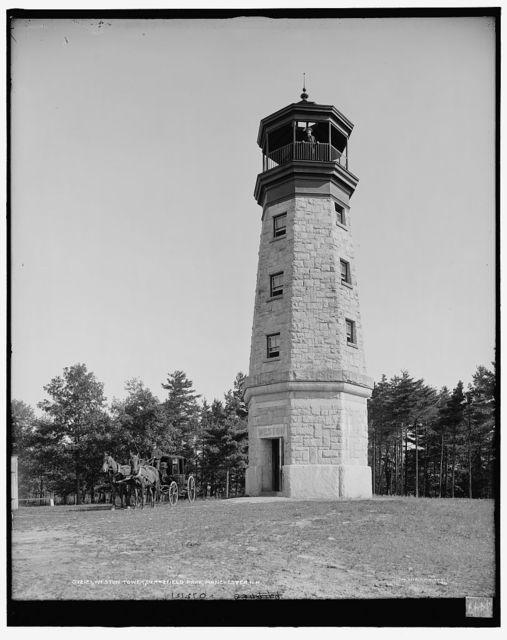 Weston tower, Derryfield Park, Manchester, N.H.