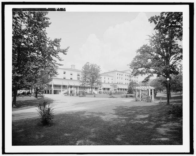 White Sulphur Springs Hotel, W. Va.