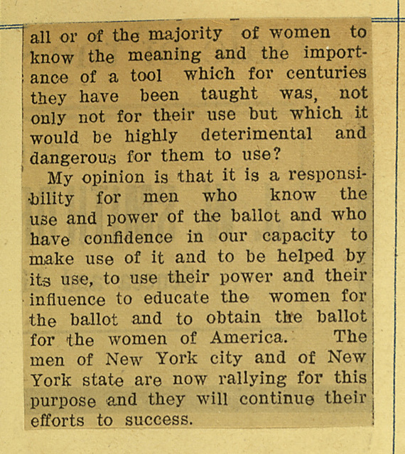 Why I Am a Suffragist By Anne Fitzhugh Miller; page 2