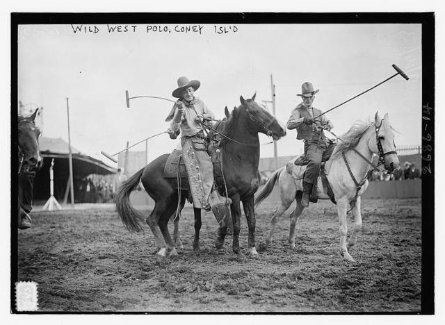 Wild West Polo, Coney Isl.