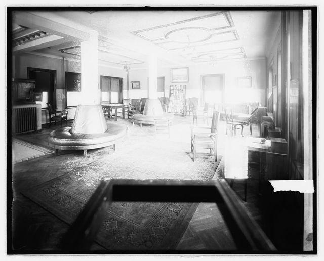Winston Hotel, interiors