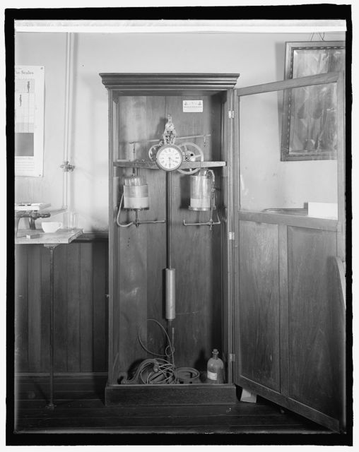 W.L. Baker clock