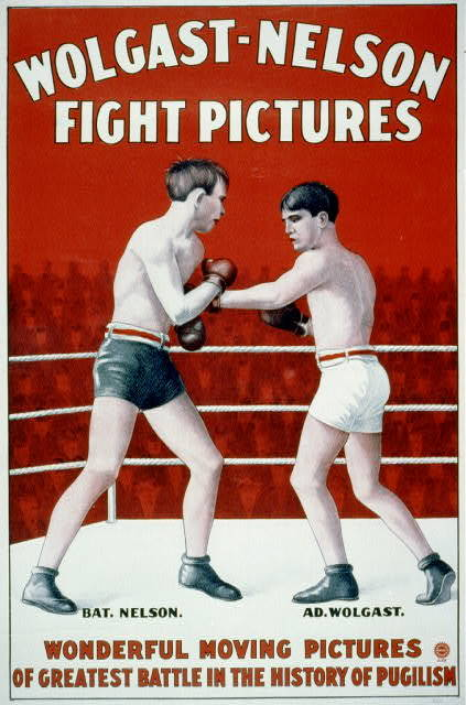 Wolgast-Nelson Fight Pictures : Wonderful moving pictures of the greatest battle in the history of pugilism.