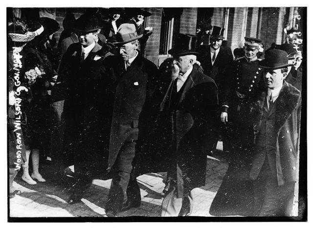 Woodrow Wilson & Gov Mann