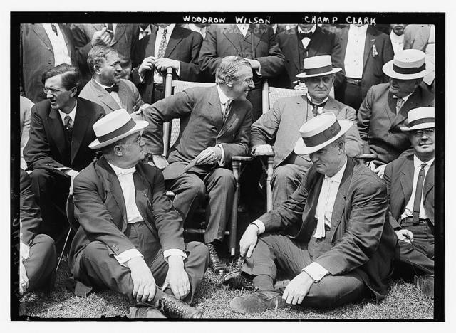 Woodrow Wilson; Champ Clark