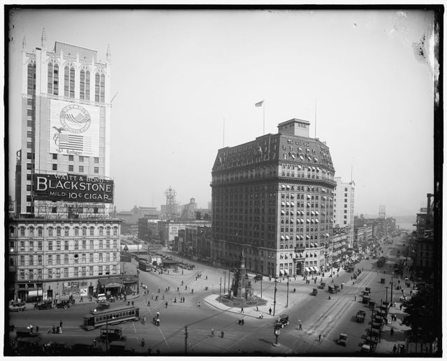 [Woodward Avenue, south from Majestic building, Detroit, Mich.]