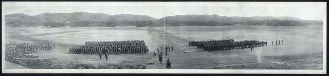 1es Regiment, U.S. Marines Camp, Deer Point, Guantanamo Bay, Cuba, April 26, 1911