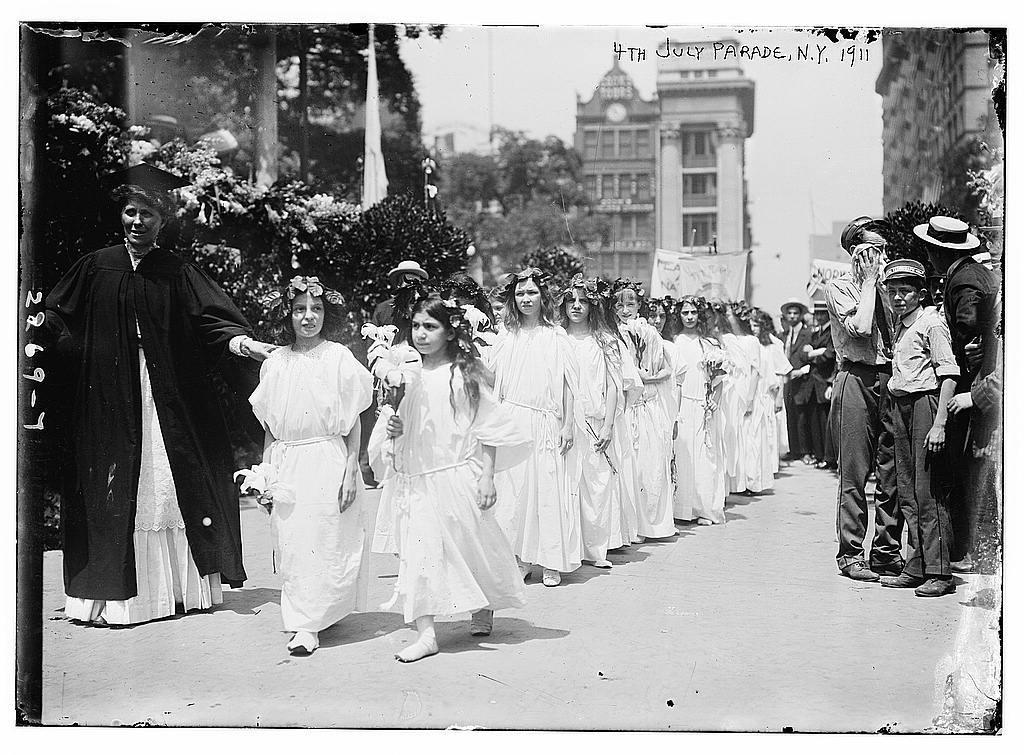 4th of July Parade, N.Y., 1911