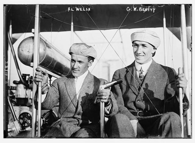 Al Welsh [and]  G.W. Beatty