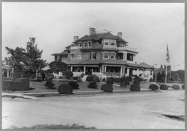Albert Marburg residence, Spring Lake Beach, N.J.