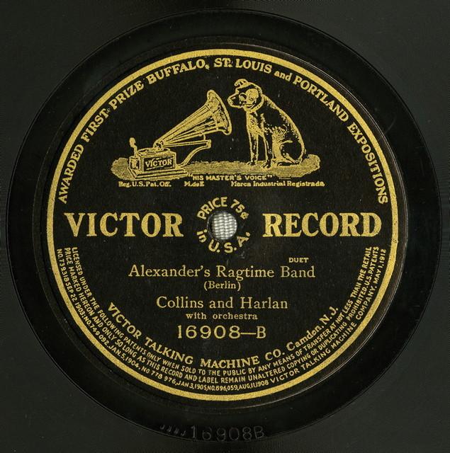 Alexander' Alexanders ragtime band