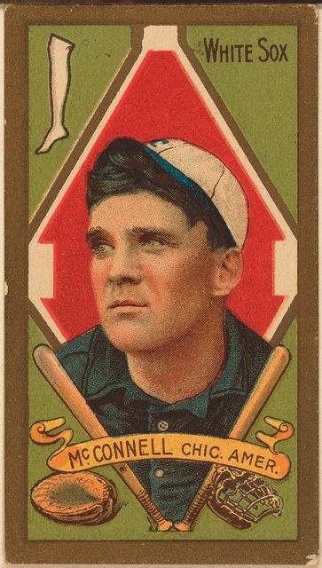 [Ambrose McConnell, Chicago White Sox, baseball card portrait]