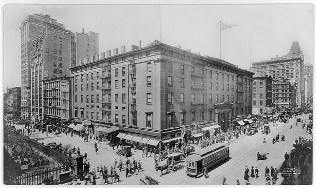 Astor House, Broadway & Vesey St., N.Y.C.