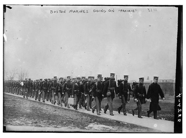 Boston Marines going on PRAIRIE
