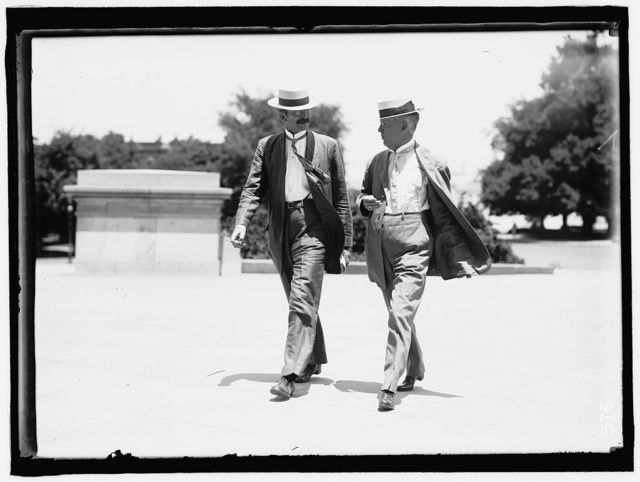 BRISTOW, JOSEPH LITTLE. 4TH ASSISTANT POSTMASTER GENERAL, 1897-1905; SENATOR FROM KANSAS, 1909-1915. LEFT