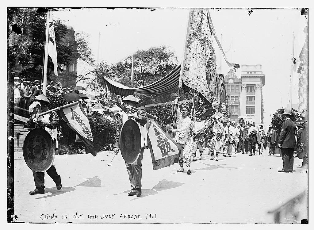China in N.Y. 4th of July Parade, 1911