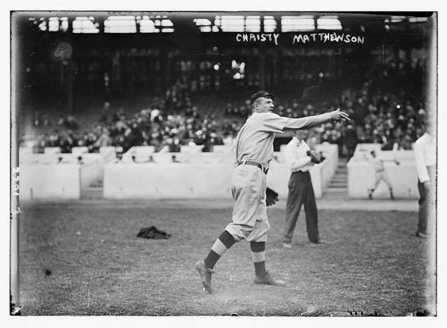 [Christy Mathewson, New York, NL (baseball)]