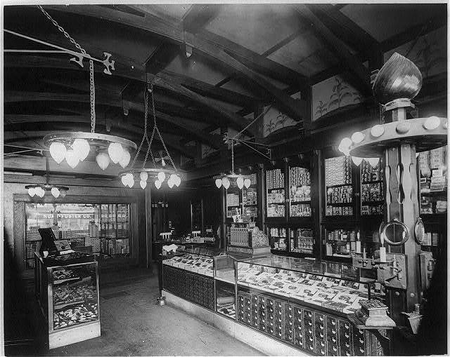 [Cigar store - Buffalo - show room]